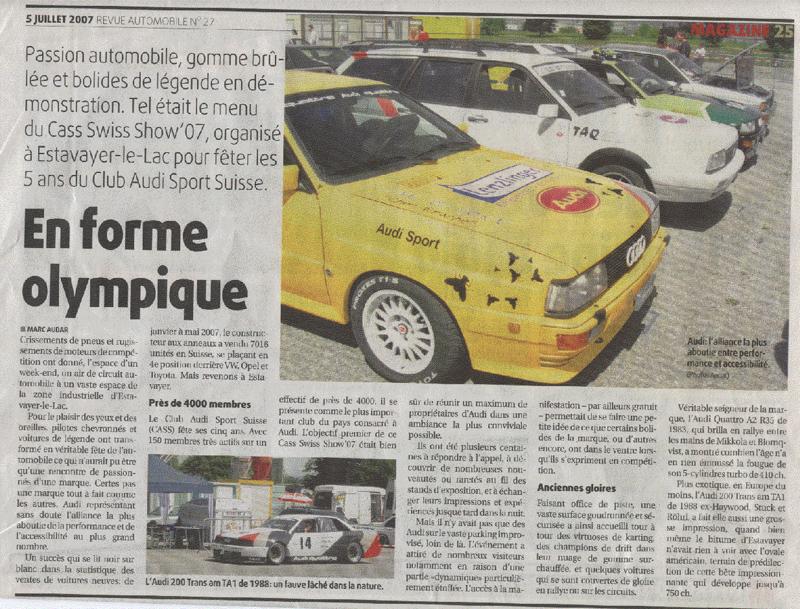 2007, revue automobile, ascs